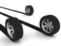 Competir con los neumáticos