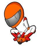 Competir con mini moto libre illustration