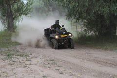 Competities en vierlingfietsen Kyivstadium van de kunnen-Am het teamconcurrentie 2017, Zabire, Kyiv-gebied, de Oekraïne van Kyiv  Stock Afbeeldingen