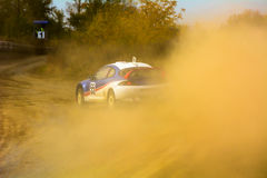 Competition in autocross Royalty Free Stock Photo