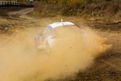 Competition in autocross Stock Images