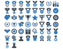 Competition and Awards Icons Royalty Free Stock Photo