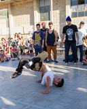 Competition of breakdance Royalty Free Stock Images