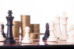 Competition chess business concept for your leadership stock photos