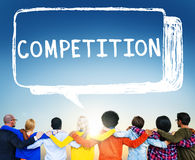 Competition Contest Contention Game Race Concept Stock Photography