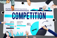 Competition Contest Marketing Strategy Concept Stock Image