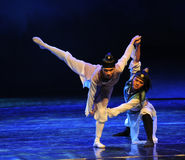 Competition-The dance drama The legend of the Condor Heroes Royalty Free Stock Image