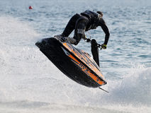 Competition Jetski Freestyle Royalty Free Stock Image