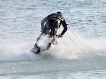 Competition Jetski Freestyle Royalty Free Stock Photos