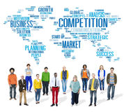 Competition Market Global Challenge Contest Concept Stock Images