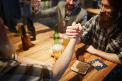 Competition in pub Stock Photography