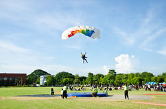 Competition Skydiving Championships royalty free stock photography