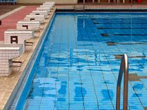 Competition Swimming Pool Stock Image