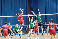 Competition to Volleyball Royalty Free Stock Photos