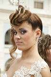 Competition of wedding hairdresses 5 Royalty Free Stock Photo