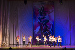 Competitions in choreography in Minsk, Belarus Royalty Free Stock Image