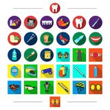 Competitions, dentistry, and other web icon in cartoon style.Protection, elbow, pads, icons in set collection. Competitions, dentistry, and other  icon in Royalty Free Stock Images
