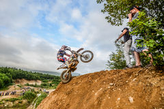 Competitions hard Enduro  no place to run Stock Images