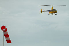 Competitions on helicopter sports in Russia. Stock Photos