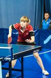 Competitions in table tennis Royalty Free Stock Photography