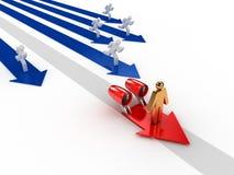 Competitive advantage | Fast Track Stock Image