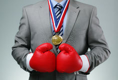 Competitive business royalty free stock photo