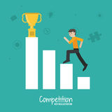 Competitive icon design Royalty Free Stock Photos
