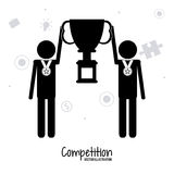 Competitive icon design Stock Photo