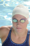 Competitive Swimmer Stock Images
