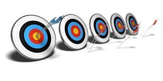 Competitiveness, business goals Stock Photos