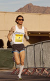 Competitor in the 2010 Phoenix Marathon Stock Photography