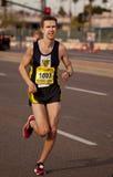 Competitor in the 2010 Phoenix Marathon Royalty Free Stock Image