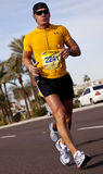 Competitor in the 2010 Phoenix Marathon Royalty Free Stock Photo