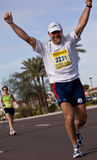 Competitor in the 2010 Phoenix Marathon Royalty Free Stock Images
