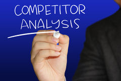 Competitor Analysis Royalty Free Stock Images