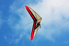 Competitor of the Dutch Open-2010 hang gliding com Stock Images