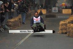 Competitor in flighjt-1 Stock Photos