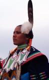 Competitore #4 dell'nativo americano Fotografia Stock