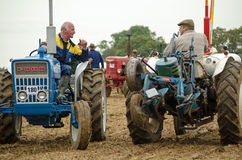 Competitors chatting, Ploughing Championships Stock Photography