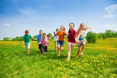 Competência das crianças Foto de Stock