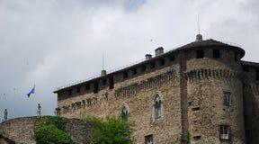 Compiano-Schloss stockbild