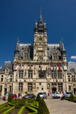 Compiegne - town hall Royalty Free Stock Photo