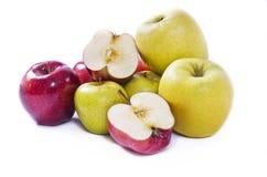 Compilación de las manzanas Fotografía de archivo libre de regalías