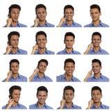 Compilation businessman Royalty Free Stock Photo