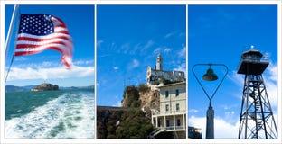 Compilation d'Alcatraz Image stock