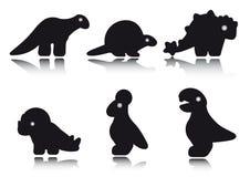 Compilation de Dino Photos libres de droits