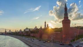 Compilazione di lasso di tempo di Mosca archivi video