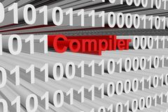 Compiler stock illustration