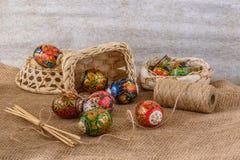 Compisition de Easter Foto de Stock