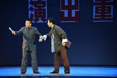 Complain-Jiangxi OperaBlue coat Royalty Free Stock Photos